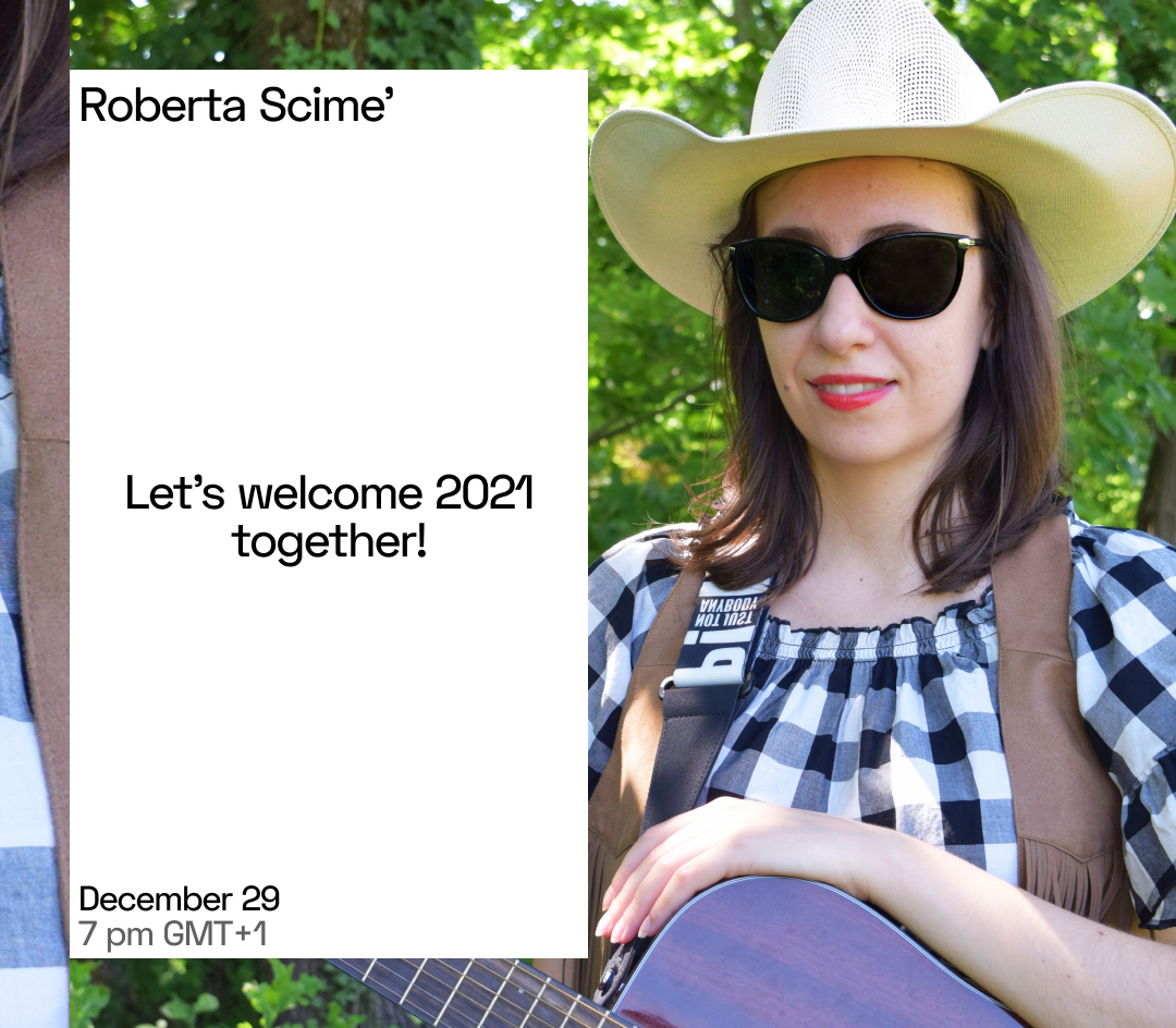 Let's welcome 2021 together!